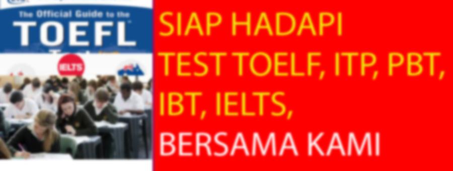 Les Privat TOEFL, PBT, ITP, iBT,IELTS,