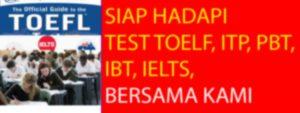 Les Privat TOEFL, ITP, PBT, IBT, IELTS