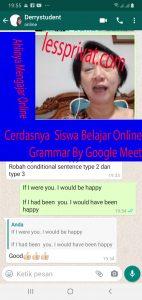 Les Privat Online By Google Meet