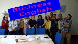 les inggris bisnis